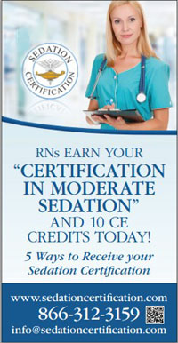 Sedation Certification in Nurse Extra