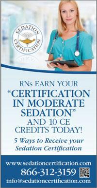 Sedation Certification in Nurse Extra